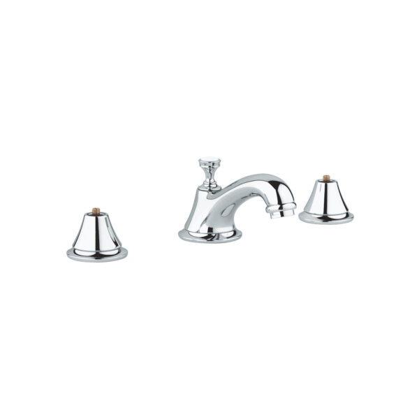 """Grohe 2080000A - 8"""" Widespread 2-Handle S-Size Bathroom Faucet 4.5 L/min (1.2 gpm)"""