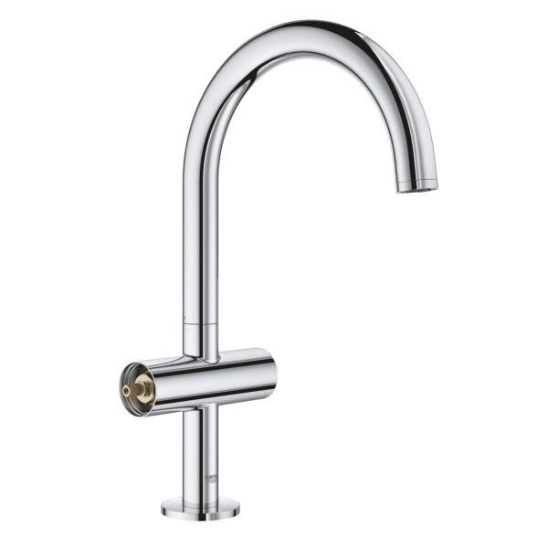 Grohe 21027003 - Single Hole Single-Handle L-Size Bathroom Faucet 4.5 L/min (1.2 gpm)