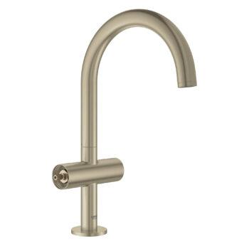 Grohe 21027EN3 – Single Hole Single-Handle L-Size Bathroom Faucet 4.5 L/min (1.2 gpm)