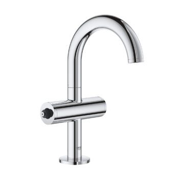 Grohe 21031003 – Single Hole Single-Handle M-Size Bathroom Faucet 4.5 L/min (1.2 gpm)