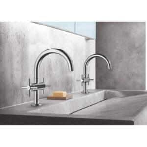 Grohe 21031003 - Single Hole Single-Handle M-Size Bathroom Faucet 4.5 L/min (1.2 gpm)