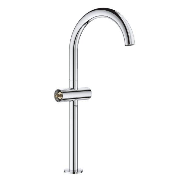 Grohe 21046003 - Single Hole Single-Handle Deck Mount Vessel Sink Faucet 4.5 L/min (1.2 gpm)