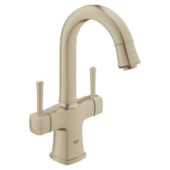 Grohe 21108ENA – Single Hole 2-Handle L-Size Bathroom Faucet 4.5 L/min (1.2 gpm)
