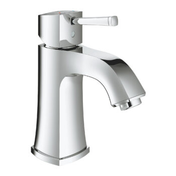 Grohe 2331200A – Single Hole Single-Handle M-Size Bathroom Faucet 4.5 L/min (1.2 gpm) Less Drain