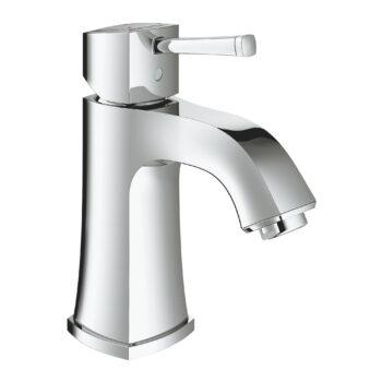 Grohe 23312ENA – Single Hole Single-Handle M-Size Bathroom Faucet 4.5 L/min (1.2 gpm) Less Drain
