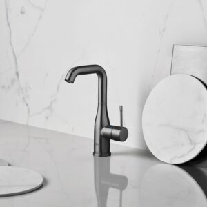 Grohe 23486A0A - Single Hole Single-Handle L-Size Bathroom Faucet 4.5 L/min (1.2 gpm)