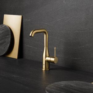 Grohe 23486GNA - Single Hole Single-Handle L-Size Bathroom Faucet 4.5 L/min (1.2 gpm)