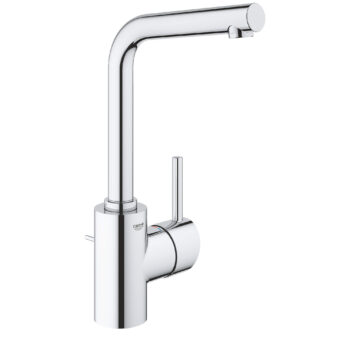 Grohe 23737002 – Single Hole Single-Handle L-Size Bathroom Faucet 4.5 L/min (1.2 gpm)