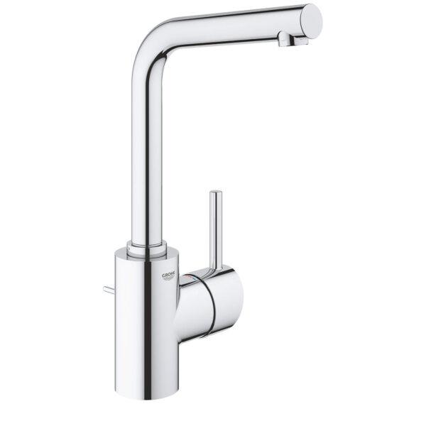 Grohe 23737002 - Single Hole Single-Handle L-Size Bathroom Faucet 4.5 L/min (1.2 gpm)