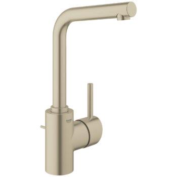 Grohe 23737EN2 – Single Hole Single-Handle L-Size Bathroom Faucet 4.5 L/min (1.2 gpm)