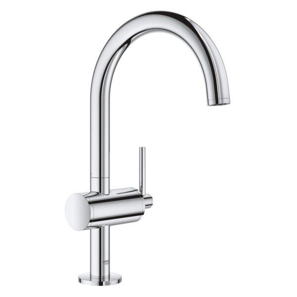 Grohe 23828003 - Single Hole Single-Handle L-Size Bathroom Faucet 4.5 L/min (1.2 gpm)