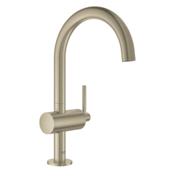 Grohe 23828EN3 – Single Hole Single-Handle L-Size Bathroom Faucet 4.5 L/min (1.2 gpm)