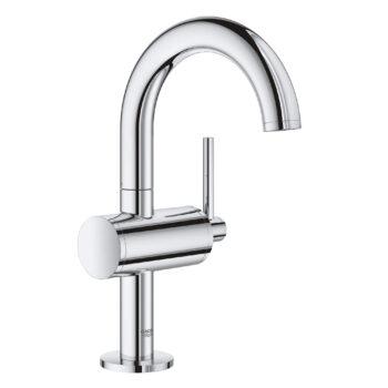 Grohe 23831003 – Single Hole Single-Handle M-Size Bathroom Faucet 4.5 L/min (1.2 gpm)