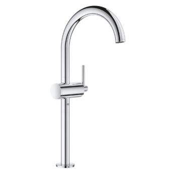 Grohe 23834003 – Single Hole Single-Handle Deck Mount Vessel Sink Faucet 4.5 L/min (1.2 gpm)