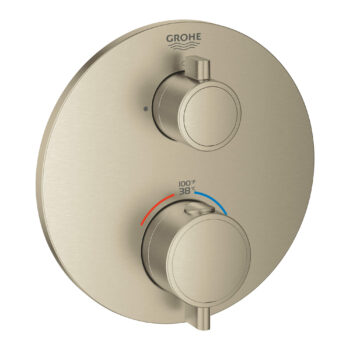 Grohe 24107EN0 – Single Function 2-Handle Thermostatic Valve Trim
