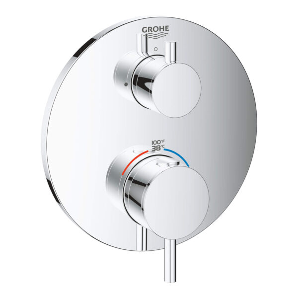 Grohe 24151003 - Dual Function 2-Handle Thermostatic Valve Trim