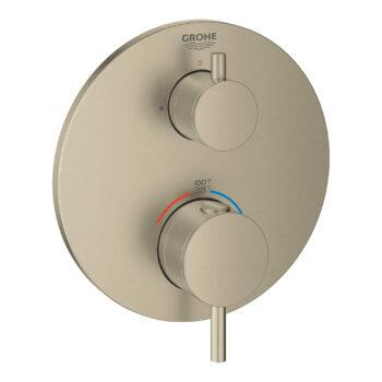 Grohe 24151EN3 – Dual Function 2-Handle Thermostatic Valve Trim