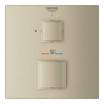 Grohe 24157EN0 – Single Function 2-Handle Thermostatic Valve Trim