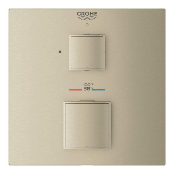 Grohe 24157EN0 - Single Function 2-Handle Thermostatic Valve Trim
