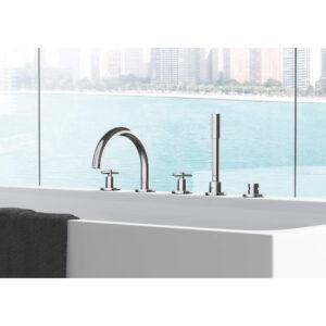 Grohe 25048003 - 3-Hole 2-Handle Deck Mount Roman Tub Faucet