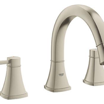 Grohe 25154EN0 – 3-Hole 2-Handle Deck Mount Roman Tub Faucet