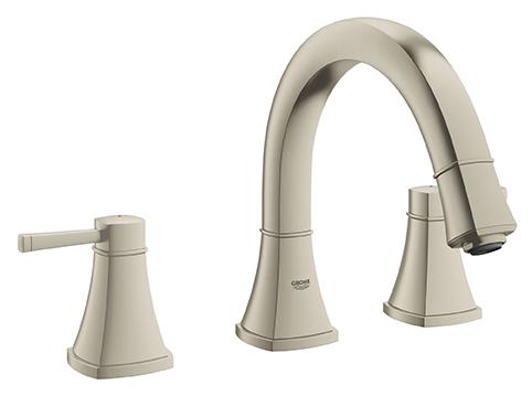 Grohe 25154EN0 - 3-Hole 2-Handle Deck Mount Roman Tub Faucet