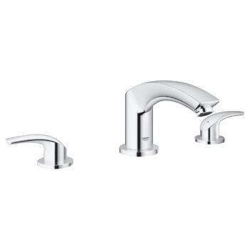 Grohe 25168002 – 3-Hole 2-Handle Deck Mount Roman Tub Faucet