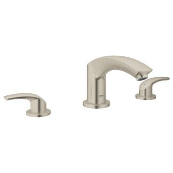 Grohe 25168EN2 – 3-Hole 2-Handle Deck Mount Roman Tub Faucet