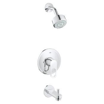 Grohe 26017000 – Pressure Balance Valve Tub/Shower Combo