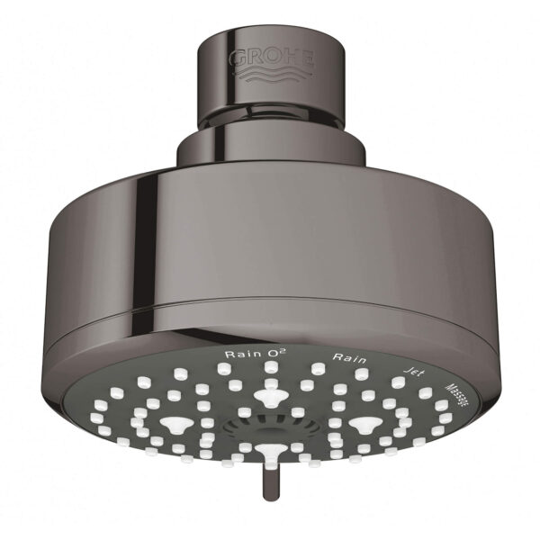 "Grohe 26043A01 - 100 Shower Head, 4"" - 4 Sprays, 6.6 L/min (1.75 gpm)"