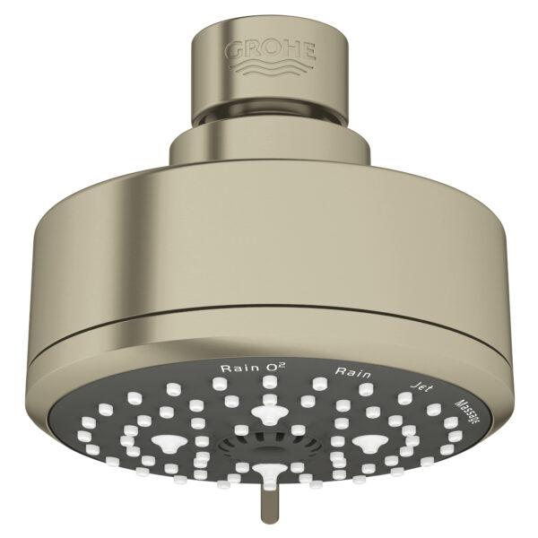 """Grohe 26043EN1 - 100 Shower Head, 4"""" - 4 Sprays, 6.6 L/min (1.75 gpm)"""