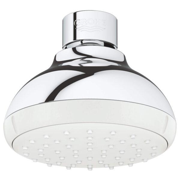 "Grohe 26050001 - 100 Shower Head, 4"" - 1 Spray, 5.7 L/min (1.5 gpm)"