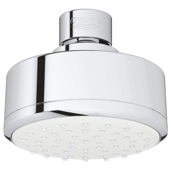 "Grohe 26051001 - 100 Shower Head, 4"" - 1 Spray, 5.7 L/min (1.5 gpm)"