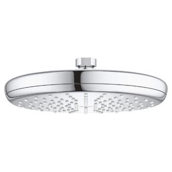 Grohe 26409000 – 210 Shower Head, 8″ – 1 Spray, 6.6 L/min (1.75 gpm)