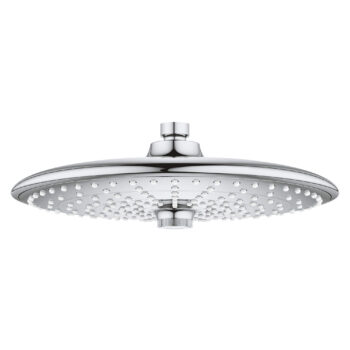 Grohe 26457000 – 260 Shower Head, 10″ – 3 Sprays, 9.5 L/min (2.5 gpm)