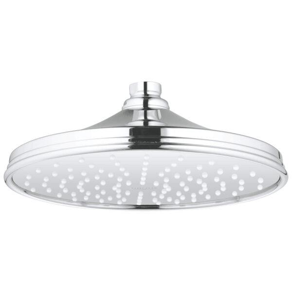 "Grohe 26474000 - 210 Shower Head, 8"" - 1 Spray, 6.6 L/min (1.75 gpm)"