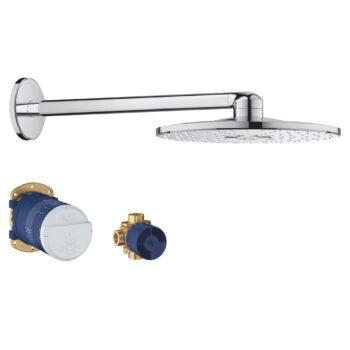 Grohe 26502000 – 310  Shower Head Set, 12″ – 2 Sprays, 6.6 L/min (1.75 gpm)