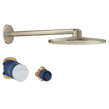 Grohe 26502EN0 – 310  Shower Head Set, 12″ – 2 Sprays, 6.6 L/min (1.75 gpm)