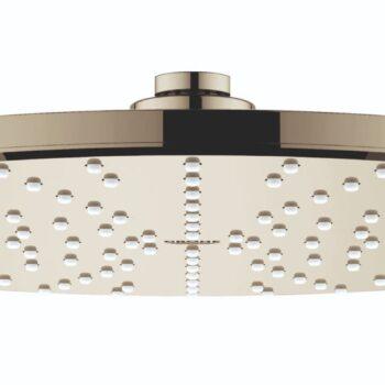 Grohe 26569BE0 – 310 Mono Shower Head, 12″ – 1 Spray, 6.6 L/min (1.75 gpm)