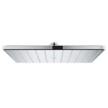 Grohe 26570000 – 310 Mono Shower Head, 12″ – 1 Spray, 6.6 L/min (1.75 gpm)