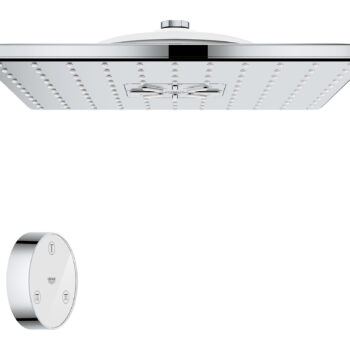 Grohe 26645000 – Shower Head with Remote, 12″ – 2 Sprays, 1.75gpm
