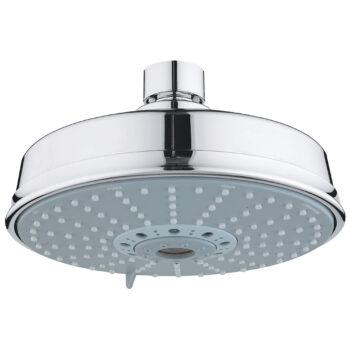 Grohe 27130000 – 160 Shower Head, 6-1/4″ – 4 Sprays, 9.5 L/min (2.5 gpm)