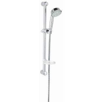 Grohe 27142000 – 24″ Shower Slide Bar Kit – 5 Sprays, 9.5 L/min (2.5 gpm)