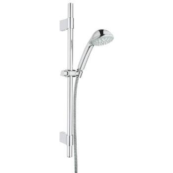 Grohe 28917000 – 24″ Shower Slide Bar Kit – 5 Sprays, 9.5 L/min (2.5 gpm)