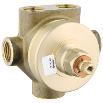 Grohe 29035000 – 3-Way Diverter Rough-In Valve (Shared Functions)