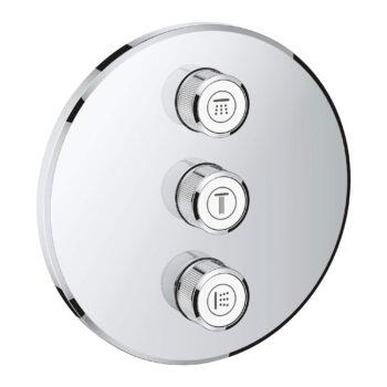 Grohe 29122000 – Triple Volume Control Trim