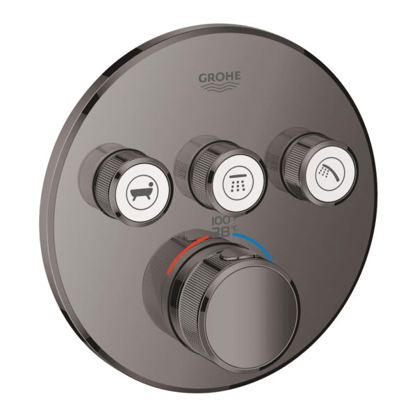 Grohe 29138A00 - Triple Function Thermostatic Valve Trim