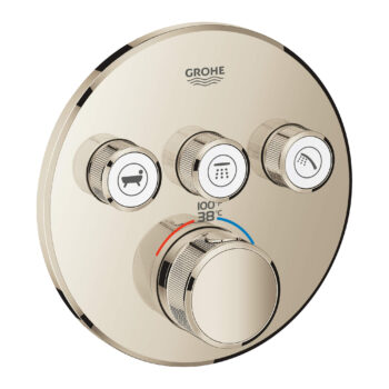 Grohe 29138BE0 – Triple Function Thermostatic Valve Trim