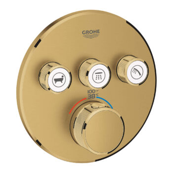 Grohe 29138GN0 – Triple Function Thermostatic Valve Trim