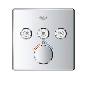 Grohe 29142000 - Triple Function Thermostatic Valve Trim